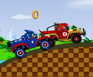 Sonic Moto › Jeux de Voiture Gratuit